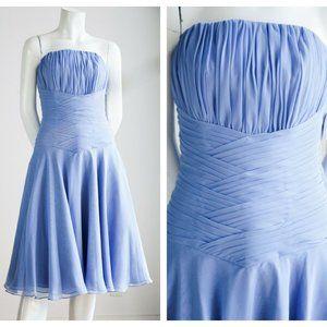 NWT Saison Blanche Pleated Boned Bodice Dress